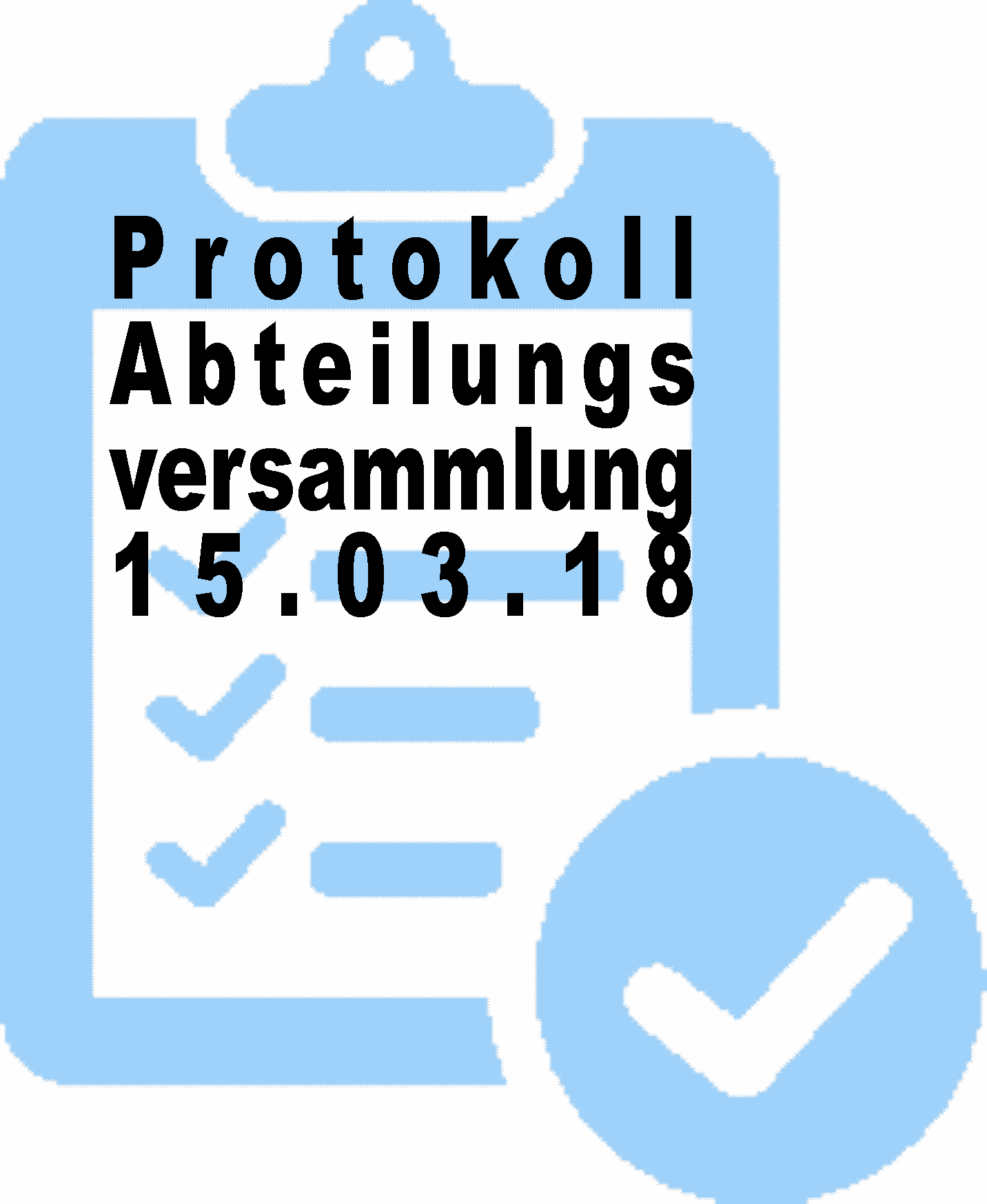 Protokoll Vorstand Button